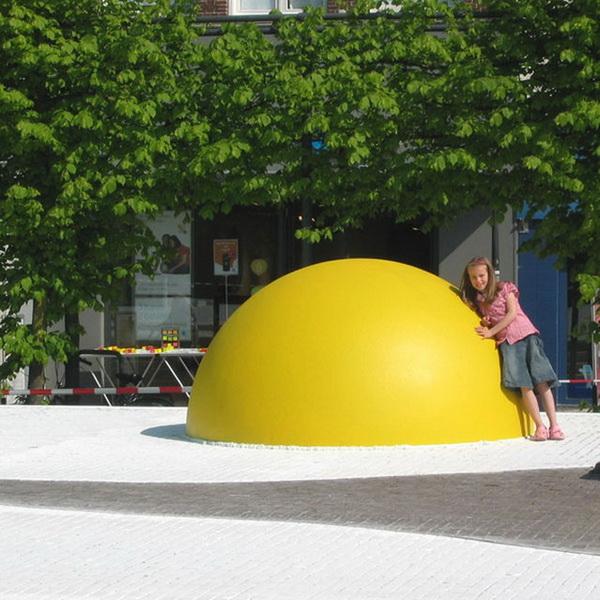 Необычная яичница от Henk Hofstra.