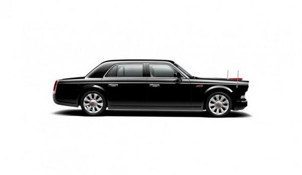 Hongqi L5 – китайский лимузин за 800 тысяч долларов. Источник фото: bbc.com