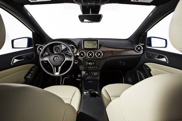 Электрический вариант Mercedes-Benz B-Class. Источник фото: Mercedes-Benz