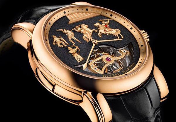 Наручные часы «Александр Великий» от Ulysse Nardin.