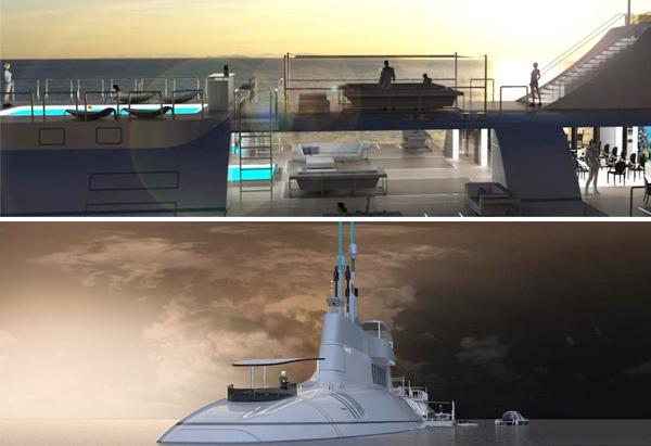 Яхта-субмарина Migaloo