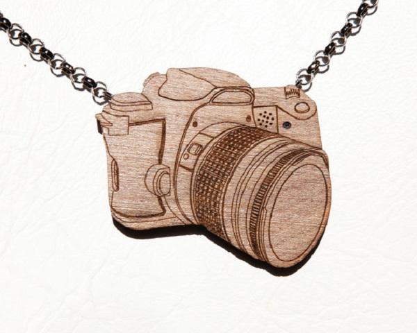 Ожерелье, которое умеет фотографировать.