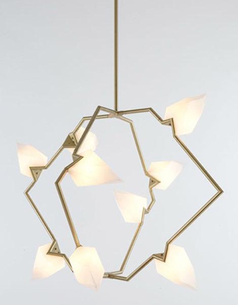 Светильники сложной формы от Bec Brittain.