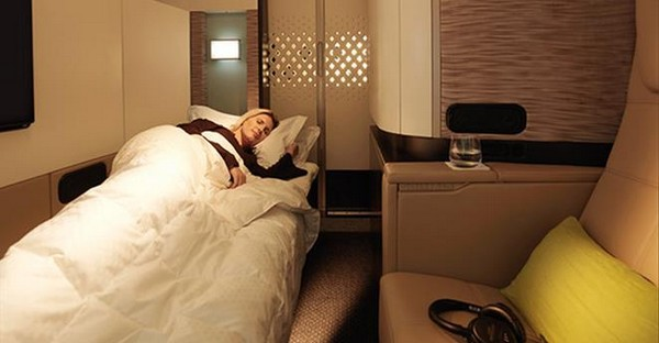 The Residence от Etihad Airways: самый шикарный пассажирский самолет. Источник фото: etihad.com