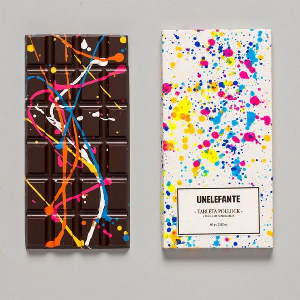 Шоколад как картина.
