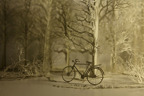 Бумажный лес от Davy и Kristin McGuire.