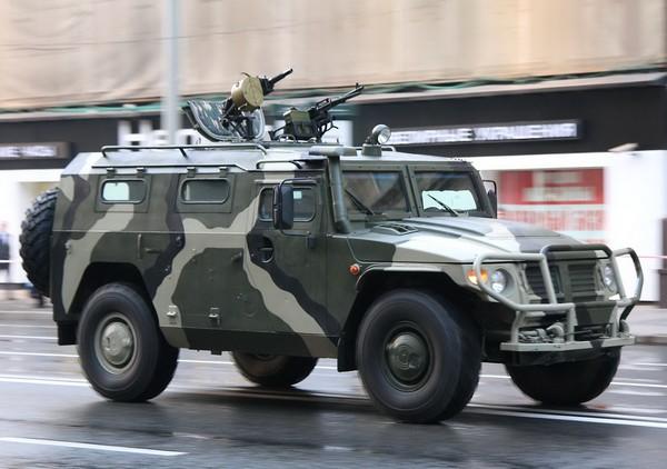 Российский бронеавтомобиль ГАЗ-2330