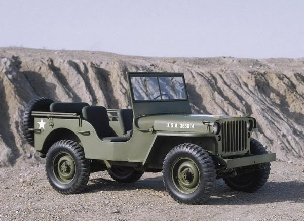 Автомобиль Willys MB времен Второй Мировой войны