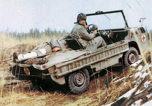Военно-медицинская вариация автомобиля ЛуАЗ-967