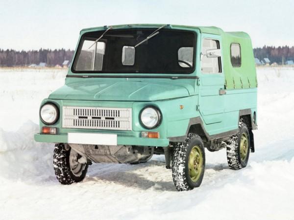 Гражданская вариация советского внедорожника ЛуАЗ-969