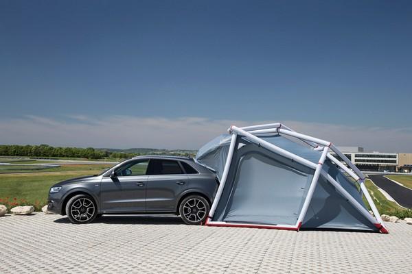 Heimplanet – надувной гараж для AUDI