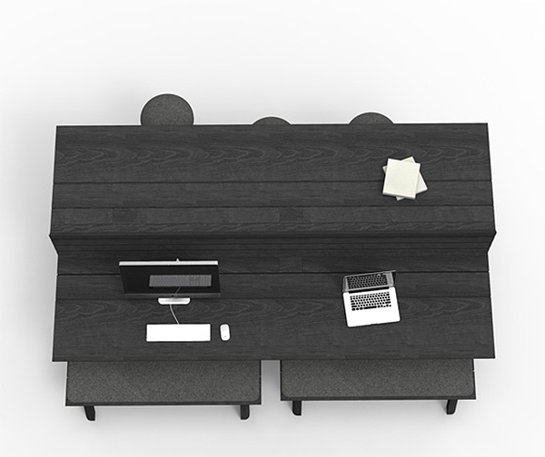 Креативные столы для офиса BuzziPicnic.