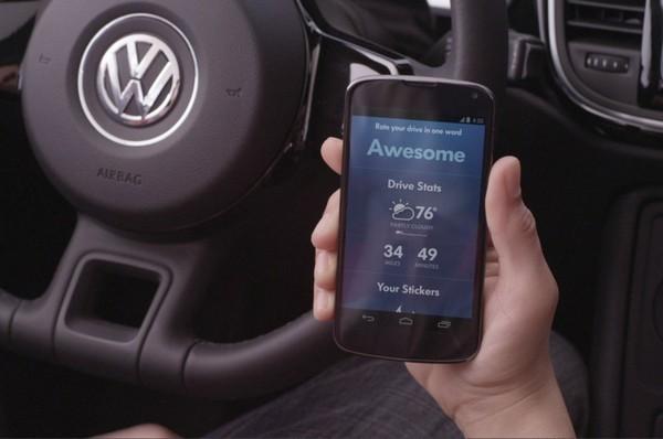 SmileDrive от VW и Google
