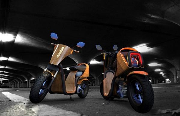 EcoMoto 2013 – скутер на сжатом воздухе