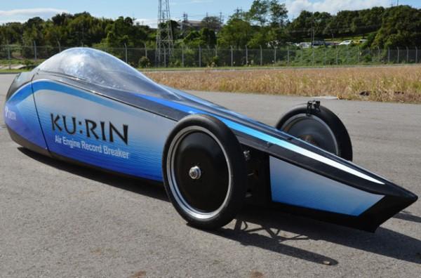 Toyota Ku:Rin – рекорд скорости езды на сжатом воздухе