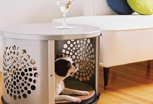 Домик для собаки - столик для хозяев