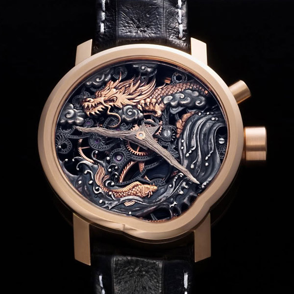 Уникальные наручные часы Dragon Gate Legend