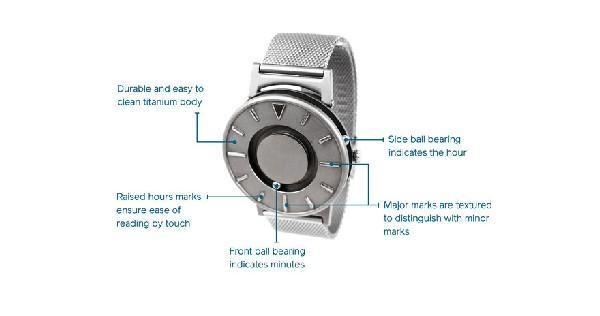 Наручные часы Bradley - для слепых и зрячих
