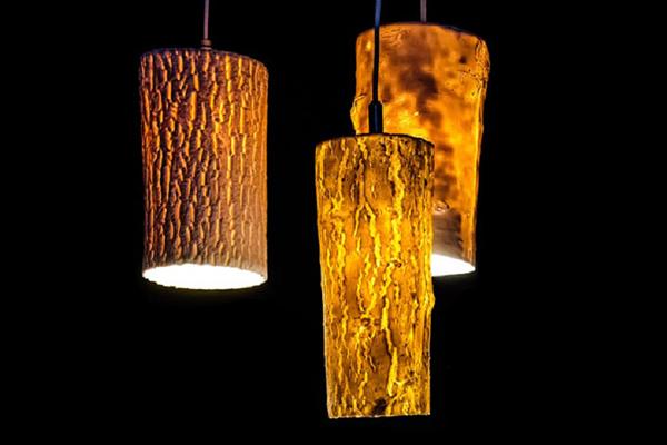 Оригинальные светильники.