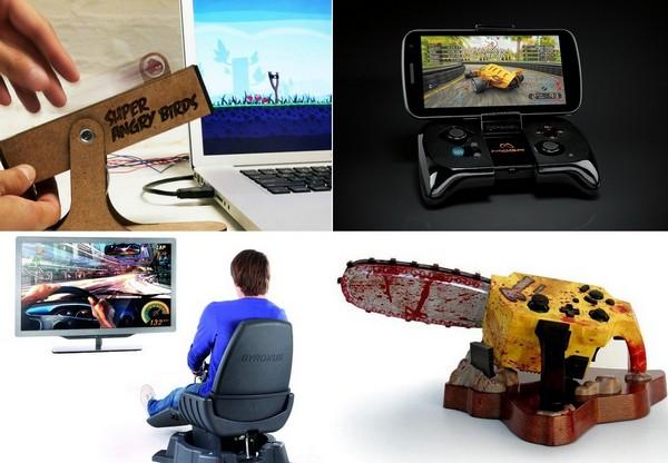 Самые необычные контроллеры для видеоигр