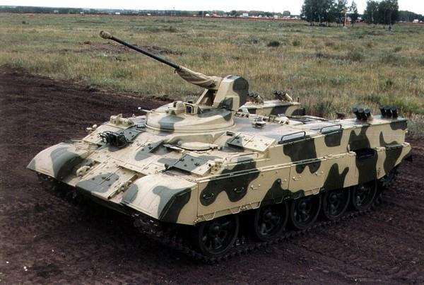 Российская боевая машина десанта БМД-4М Садовница