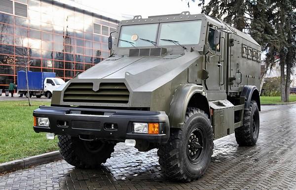 Российский бронетранспортер Горец-К
