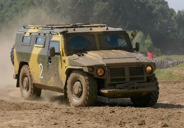 Российский бронеавтомобиль ГАЗ-2330 Тигр