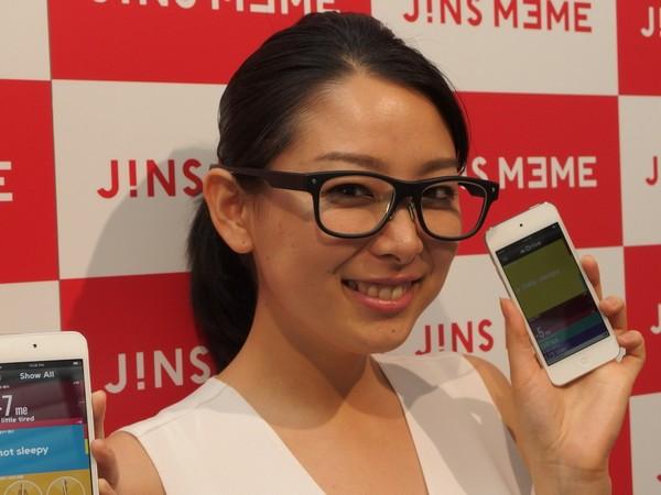 JINS MEME – умные очки для заботы о здоровье