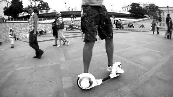 FreeRider SkateCycle – скейтборд нового поколения