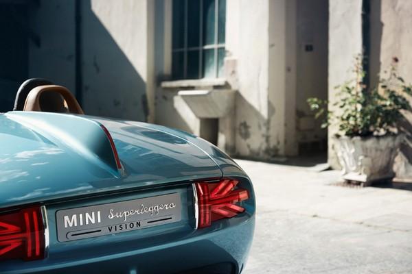 MINI Superleggera Vision – самый элегантный MINI