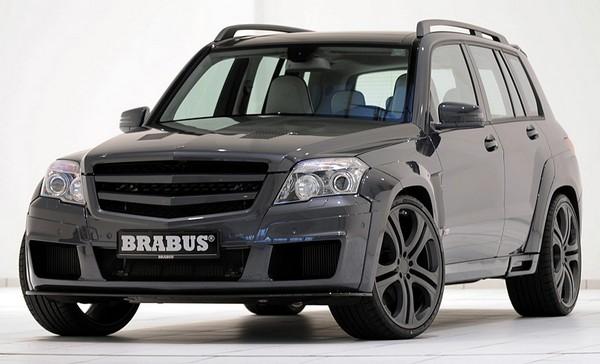 Элитный внедорожник Brabus GLK V12