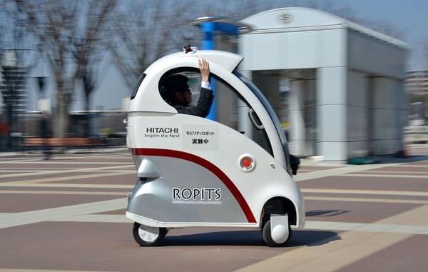 Миниатюрный автомобиль Hitachi Ropits