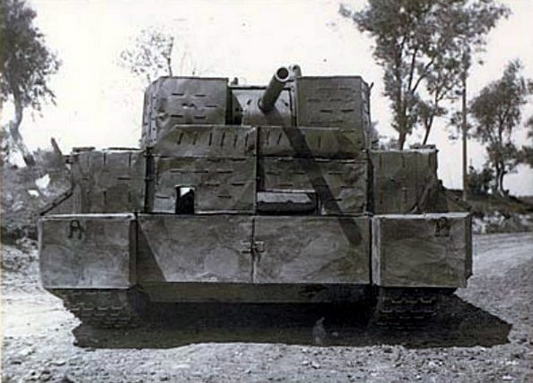 Т-34 с бетонной броней