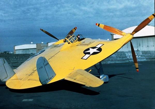 Летающая тарелка Vought V-173
