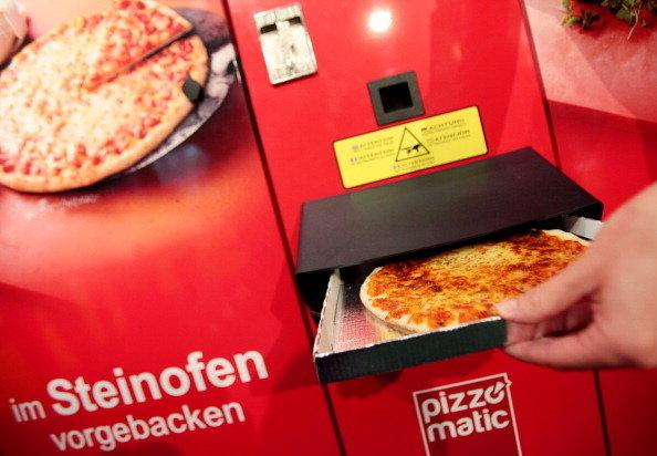 Вкусная горячая пицца