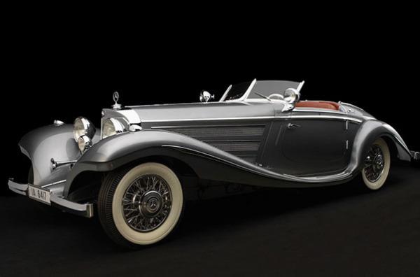 Mercedes-Benz 540K Special Roadster, 1937