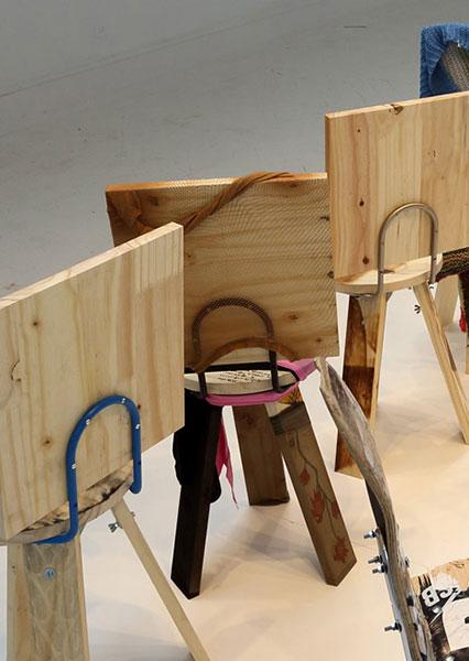 Коллекция стульев, созданная под руководством Curro Claret.