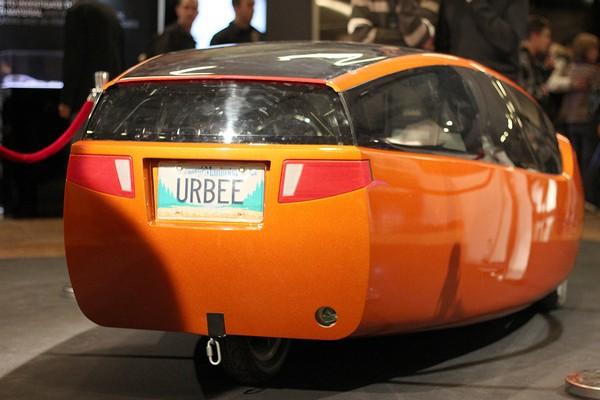 Urbee – напечатанный на принтере автомобиль