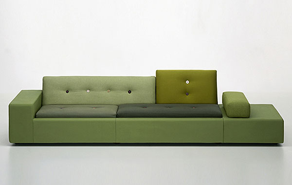 Оригинальный диван от Hella Jongerius.