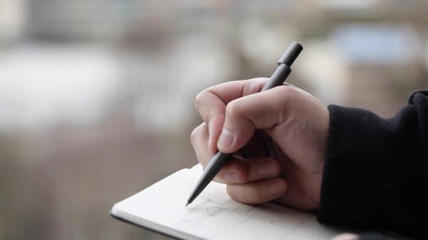 Новый взгляд на дизайн письменной ручки.