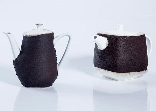 Насадка на чайник для сохранения тепла.