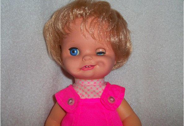 Mattel Saucy Doll