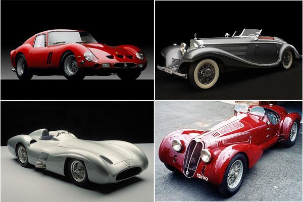 10 самых дорогих классических автомобилей