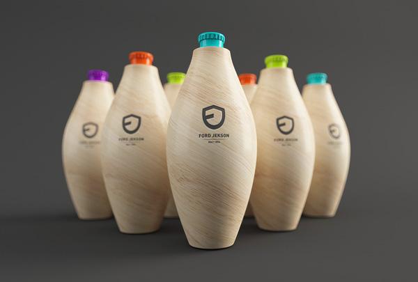 Ford Jekson - напиток с разными вкусами, что отражено в упаковке разными цветами крышечек.