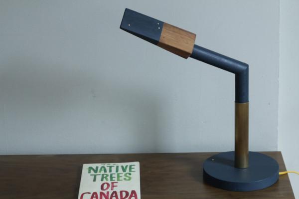 Стильная настольная лампа от Кевина Майкла Бернса (Kevin Michael Burns).