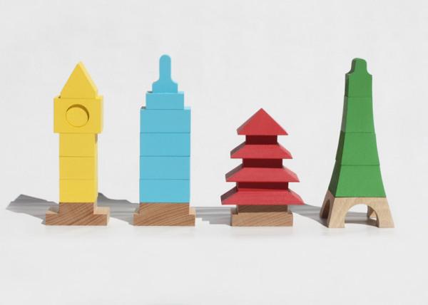 Набор пирамидок Miworld (Мой мир).