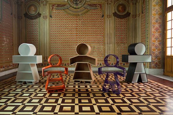 Шкафы для книг от Henrique Steyer.