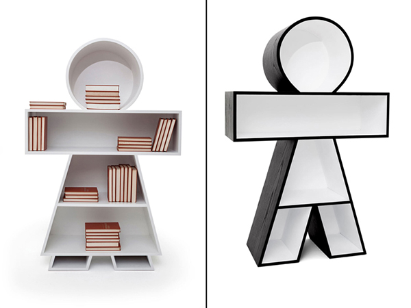 Книжные шкафы от Henrique Steyer.