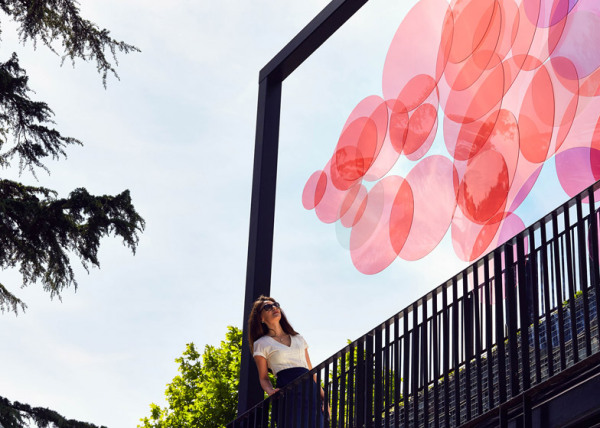 Прозрачная инсталляция в Турции.