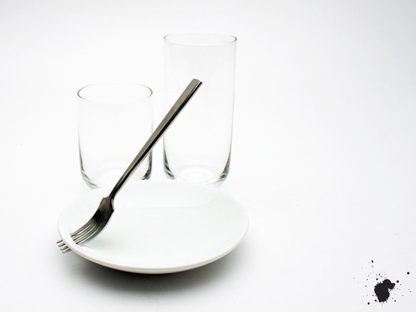 Набор посуды для фуршетов.